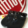 Filflop new เพชร 3เม็ด3 แบบสีดำ490.-