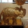 ช้างทอง ชุบทองคำแท้พ่น