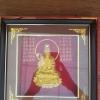 กรอบรูปทองเค เจ้าแม่กวนอิม ขนาดกว้าง 10 นิ้ว สูง 10 นิ้ว