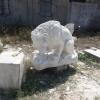 สิงโต กินเนื้อ แกะสลัก