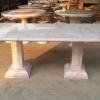 โต๊ะหินอ่อน ทรงสี่่เหลี่ยม ยาว 210 เซนติเมตร กว้าง118 เซนติเมตร