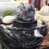 หินหมุนมงคล+อ่างน้ำชุดใหญ่ หินอ่อนทั้งชุด