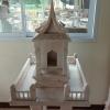 ศาลตายาย ขนาด ฐานกว้าง 55 ยาว 65 สูง 140 เซนติเมตร