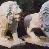 สิงโต แกะสลัก
