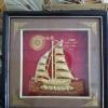 กรอบรูปเรือใบนำโชค ขนาดกว้าง 10 นิ้ว สูง 10 นิ้ว