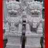 สิงโตปักกิ่ง ขนาด สูง 120 เซนติเมตร กว้าง 40 ยาว 70 เซนติเมตร ( 1 คู่ )