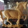 ม้า ชุบทองคำแท้พ่น ทราย