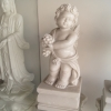 คิวปิด เทพเจ้าแห่งความรัก ถือผลไม้ ขนาดสูง 51 กว้าง 26 cm