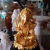 พระพิฆเนศ ทอง เรซิ่น สูง 40cm