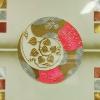 ภาพวาด แปะทองคำแท้ ใบโพะิ์เงินทอง ขนาดกว้าง120x60ซม