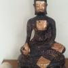 พระศิลาแลงอัด พระบูชาสมัยอู่ทอง ขนาดสูง 9 นิ้ว หน้าตักกว้าง 8 นิ้ว