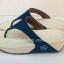 รองเท้า Fitflob Astrid Sandal หูหนีบเกล็ดเพชร สีน้ำเงิน No.FF361 thumbnail 2