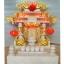 ศาลเจ้าที่หินอ่อน (ตี่จู้หินอ่อน ตี่จู้เอี๊ยะ) ขนาด 18 นิ้ว 888 หินสีขาว พ่นทอง thumbnail 1