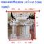 ศาลเจ้าที่หินอ่อน (ตี่จู้หินอ่อน ตี่จู้เอี๊ยะ) 24นิ้ว(รุ่นเศรษฐี) 4 เสา 5 หลังคา 4หงส์ 6มังกร หินสีชมพูลาย thumbnail 2