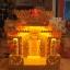 ศาลเจ้าที่หินอ่อน (ตี่จู้หินอ่อน ตี่จู้เอี๊ยะ) ขนาด 27 นิ้ว 888 น้ำผึ้งแก้ว สีเข้ม thumbnail 2