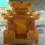ศาลเจ้าที่หินอ่อน (ตี่จู้หินอ่อน ตี่จู้เอี๊ยะ) ขนาด 27นิ้ว 888 น้ำผึ้งแก้ว thumbnail 3