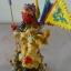 เทพพระเจ้ากวนอู ปางบัญชาการ 5 ธง 9 มังกร ขนาดกว้าง 3 นิ้ว สูง 11 นิ้ว thumbnail 4