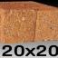 หินศิลาแลงเหลี่ยม ขนาด20x20 ซม. thumbnail 1