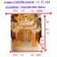 ศาลเจ้าที่ขนาด 27 นิ้ว 888 สีขาวพ่นทอง หินอ่อนหยกขาวจีน thumbnail 3
