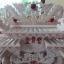 ศาลเจ้าที่จีน(ตี่จู้เอียะ)ขนาด 27 นิ้ว (มั่งมีศรีสุข)888 หินอ่อนสีขาวอักษรแดง thumbnail 7