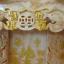 ศาลเจ้าที่หินอ่อน (ตี่จู้หินอ่อน ตี่จู้เอี๊ยะ) ขนาด18นิ้ว 888 หยกน้ำผึ้ง 4เสา5หลังคา thumbnail 5