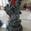 เสาว์โชหินทราย ลายมังกร สีดำ ขนาด สูง 80 เซนติเมตร กว้าง 20 เซนติเมตร thumbnail 3