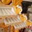 ศาลเจ้าที่ขนาด 27 นิ้ว 888 สีขาวพ่นทอง หินอ่อนหยกขาวจีน thumbnail 9