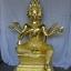 พระพรหม ปิดทองคำเปลว (ทองคำแท้) ขนาดสูง 12 นิ้ว thumbnail 1