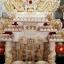 ศาลเจ้าที่ขนาด 18 นิ้ว 888 หิน สี ชมพู เกล็ดทอง thumbnail 3