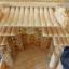 ศาลเจ้าที่หินอ่อน (ตี่จู้หินอ่อน ตี่จู้เอี๊ยะ) ขนาด18นิ้ว 888 หยกน้ำผึ้ง 4เสา5หลังคา thumbnail 10