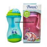 Pureen เพียวรีน ถ้วย Sport Sipper 360 มล. มีหลอดดูด BPA Free