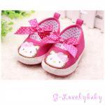 HELLO KITTY Pre-walker Baby Shoes รองเท้าเด็ก รองเท้าเด็กแบรนด์เนม รองเท้าเด็กผู้หญิงน่ารัก รองเท้าเด็กหญิงวัยหัดเดิน HELLO KITTY Size 13