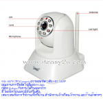EasyN H3-187V P2P IP Camera 1,000,000 pixel