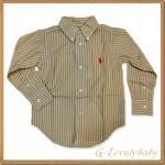 เสื้อผ้าเด็ก เสื้อเชิ้ตเด็กชาย เสื้อเด็กแบรนด์เนม เสื้อเชิ้ตเด็กยี่ห้อโปโล Polo Ralph Lauren Baby Boy Clothes 4/4T