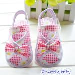 รองเท้าเด็ก รองเท้าเด็กหญิงวัยหัดเดิน รองเท้าเด็กทารกหญิง รองเท้าเด็กผู้หญิง รองเท้าเด็กอ่อน รองเท้าเด็กเล็ก รองเท้าแตะเด็ก สไตล์โบว์รัดส้น พื้นกันลื่น size 4