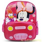 กระเป๋าเป้เด็ก กระเป๋าเด็กลายการ์ตูน กระเป๋าเป้เด็ก กระเป๋าสำหรับเด็กอนุบาล น่ารักๆ Minnie Mouse