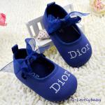 Dior Pre-walker Baby Shoes รองเท้าเด็ก รองเท้าเด็กแบรนด์เนม รองเท้าเด็กผู้หญิงน่ารัก รองเท้าเด็กหญิงวัยหัดเดิน ยี่ห้อ Christian Dior Paris