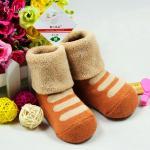 ถุงเท้าเด็ก ถุงเท้าเด็กเล็ก สวมใส่กันหนาว สินค้าเกาหลี ผ้าเทอรี่หนานุ่ม น่ารักๆ 1-3 ขวบ