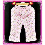 เสื้อผ้าเด็ก กางเกงเด็ก กางเกงขายาวเด็ก กางเกงขายาวเด็กหญิงผ้าคอตตอน ขนาด 9-12 เดือน