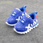 รองเท้าเด็ก รองเท้าผ้าใบเด็ก รองเท้าเด็กวัยหัดเดิน รองเท้าเด็กเล็ก Sport สไตล์นักกีฬา พื้นยางกันลื่น Baby Shoes 1-4 ขวบ พร้อมส่ง