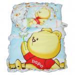 ชุดที่นอนปิกนิกเด็ก ลายหมี