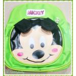กระเป๋าเป้เด็ก กระเป๋าเด็กลายการ์ตูน กระเป๋าเป้เด็ก กระเป๋าสำหรับเด็กอนุบาล น่ารักๆ Mickey Mouse สีเขียว