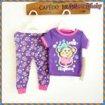 ชุดนอนเด็ก หญิง ชาย ชุดนอนเด็ก แบรนด์เนม Faded Glory ชุดนอนเด็กเล็ก Baby Pajamas Size 12M