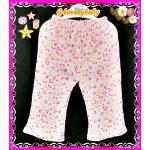 เสื้อผ้าเด็ก กางเกงเด็ก กางเกงขายาวเด็ก กางเกงขายาวเด็กหญิงผ้าคอตตอน ขนาด 12-18 เดือน