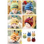 หมวกเด็ก หมวกเด็กไหมพรม หมวกเด็กอ่อน หมวกเด็กสไตล์เกาหลี หมวกเด็กสไตล์ hip-hop หมวกเด็กไหมพรมอ่อนนุ่มกันหนาว