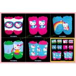 Hello Kitty ถุงเท้าเด็ก 3-6 ขวบ ถุงเท้าเด็กหญิง ถุงเท้าเด็กชาย ซานริโอ เฮลโลคิตตี้ ของแท้ 100%
