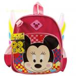 Kids Backpacks , Kindergarten Backpacks กระเป๋าเป้เด็ก กระเป๋าเด็กลายการ์ตูน แบบมีปีก สามมิติ กระเป๋าเป้เด็ก กระเป๋าสำหรับเด็กอนุบาล น่ารักๆ สีชมพู