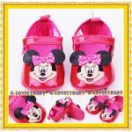 Minnie Mouse Disney Pre-walker Infant Shoes รองเท้าเด็ก รองเท้าเด็กแบรนด์เนม รองเท้าเด็กผู้หญิงน่ารัก รองเท้าเด็กหญิงวัยหัดเดิน ยี่ห้อ Disney