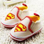 Superman รองเท้าเด็ก Pre-walker Baby Shoes รองเท้าเด็ก รองเท้าเด็กแบรนด์เนม รองเท้าเด็กน่ารัก รองเท้าเด็กวัยหัดเดิน ซุปเปอร์แมน superman