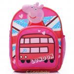 Peppa Pig Kids Backpack เป๊ปป้าพิก กระเป๋าเป้เด็ก กระเป๋าสำหรับเด็กอนุบาล น่ารักๆ (1)